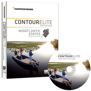 Humminbird Contour Elite - Mid-Atlantic States - Version 1