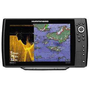 Humminbird HELIX 12 CHRIP DI GPS Combo