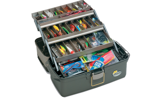 Plano 613403 Guide Series Three Tray Tackle Box