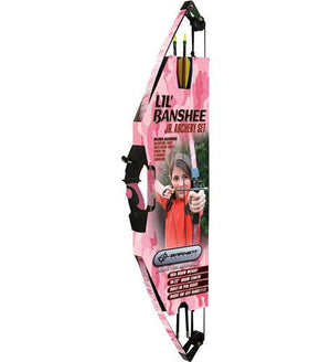 Barnett Lil Banshee Junior Pink Archery Set