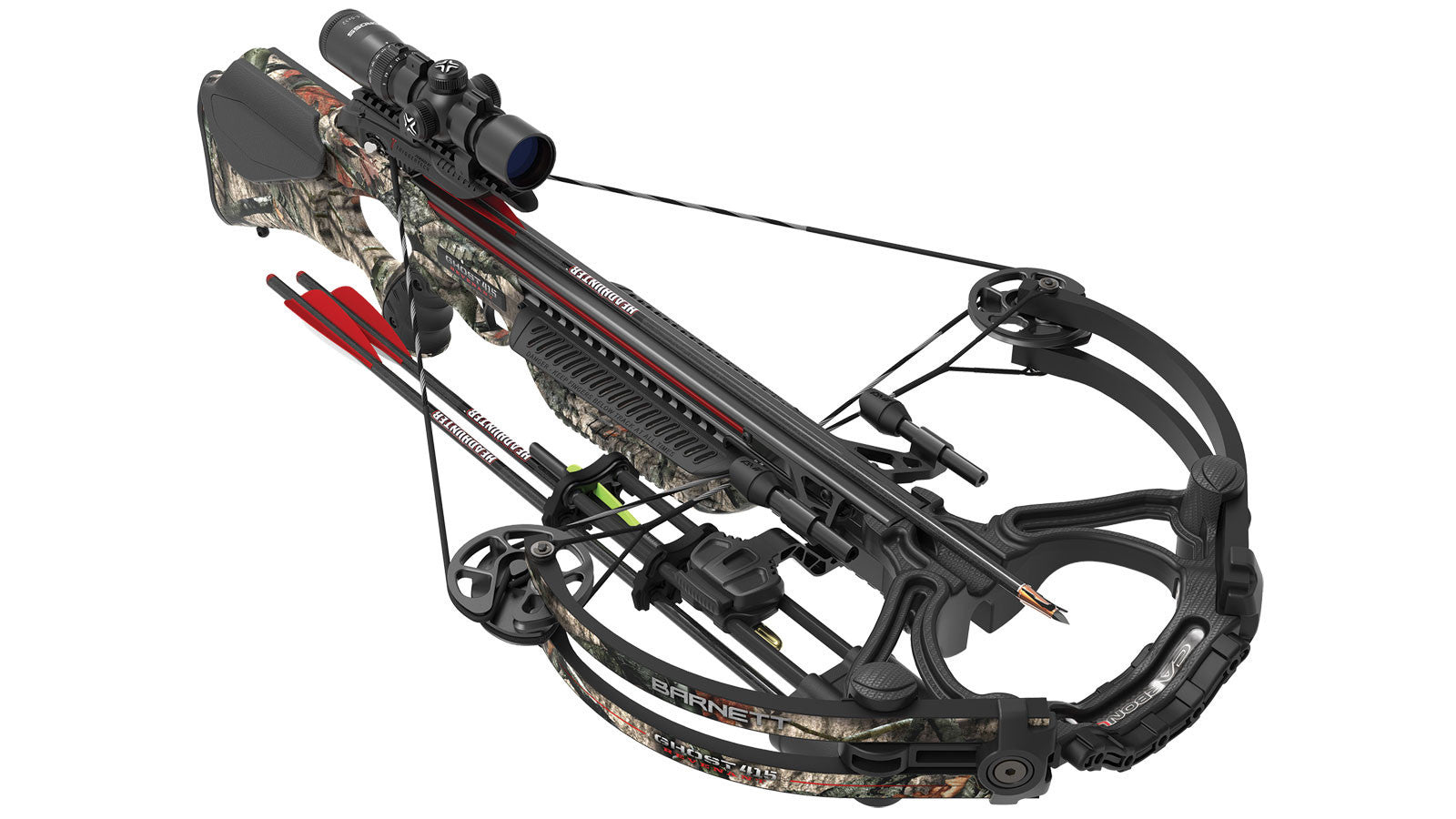 Ghost 415 Revenant - Mossy Oak Treestand with 1.5 x 5 x 32 Illuminated Scope
