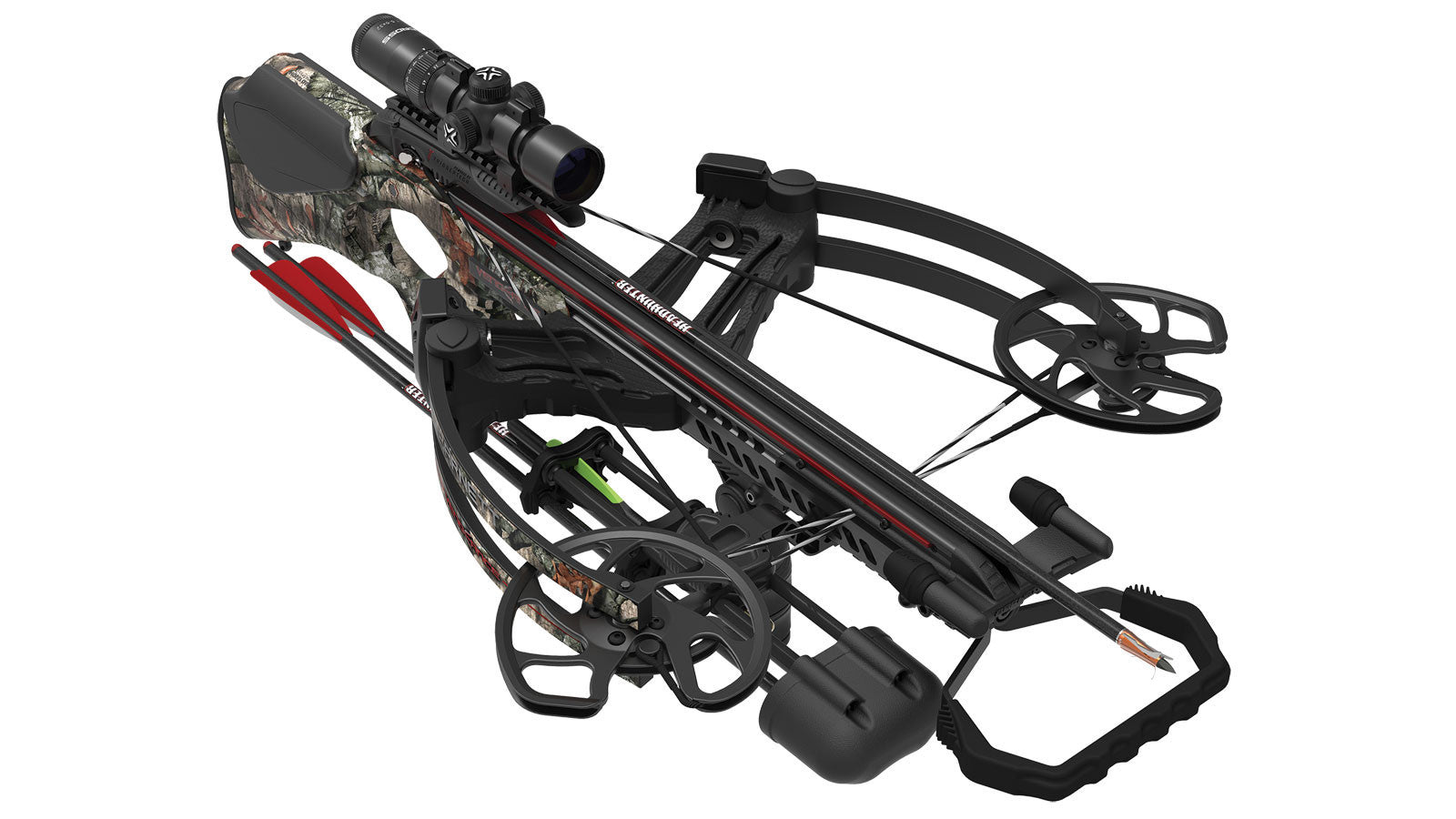 Barnett Vengeance 2 Crossbow with 3x32 Scope Mossy Oak Treestand