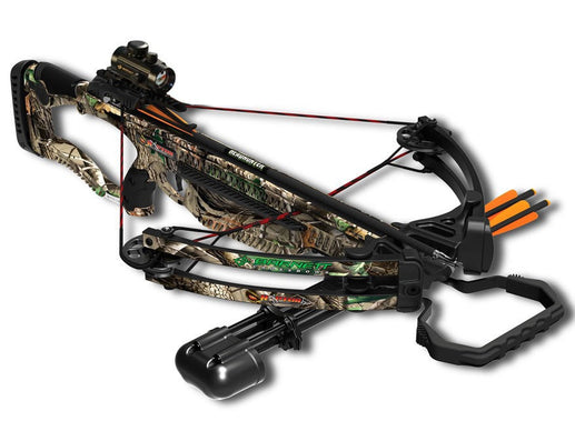 Barnett Raptor FX Crossbow Package with Red Dot Sight, Camo