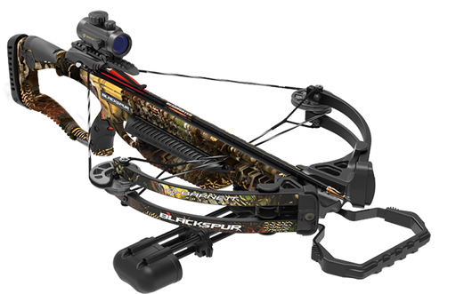 Barnett Black Spur HD Turkey Graphic Crossbow Package