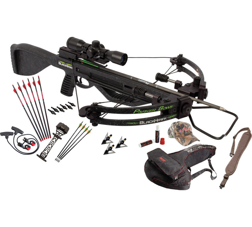 Parker Bows Perfect Storm Crossbow Package with Multi ReticleScope