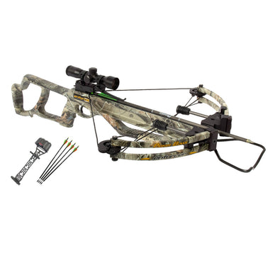 Parker Bows Enforcer Crossbow Package with 4X Multi-reticle Scope