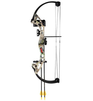 Bear Archery Brave camo with  biscuit RH