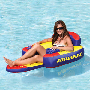 Airhead Bimini Lounger II Inflatable One Person Lounge Float