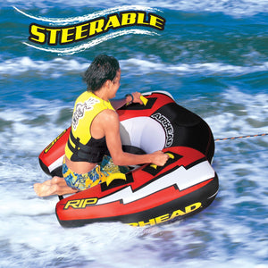 Airhead RIP Inflatable Single Rider Towable