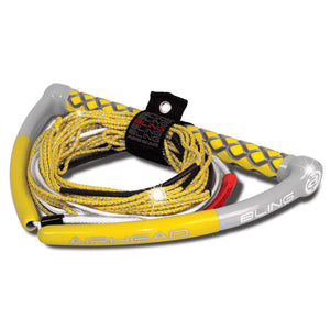 Airhead Bling Spectra Wakeboard Rope - Yellow