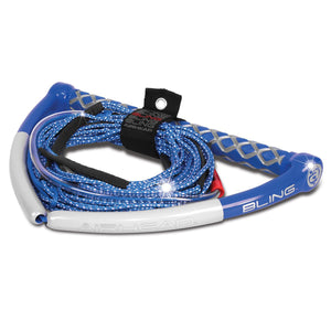 Airhead Bling Spectra Wakeboard Rope - Blue