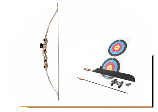 SA Sports Youth Axis 18lb Recurve Bow Set