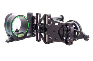 AccuPin Dual Illuminated Bow Sight Green Triangle