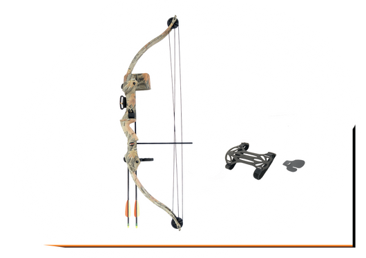 SA Sports Youth Bison Recurve 20lb Compound Bow Set
