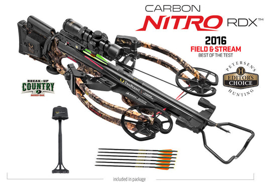 Carbon Nitro RDX Crossbow Package, ACUdraw, Mossy Oak Break-Up Country