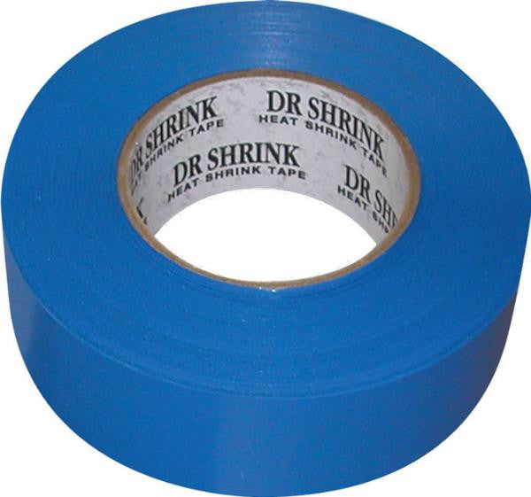 "Dr. Shrink DS-702B Blue 2"" x 180' Shrink Tape"