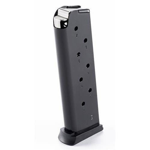 MAKO E-Lander Mags 1911 Steel .45; 8 rounds Magazine, Polymer Bottom, Black