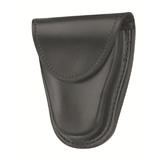 GOULD AND GOODRICH -LEATHER HIDDEN SNAP CUFF CASE FOR HINGED CUFFS