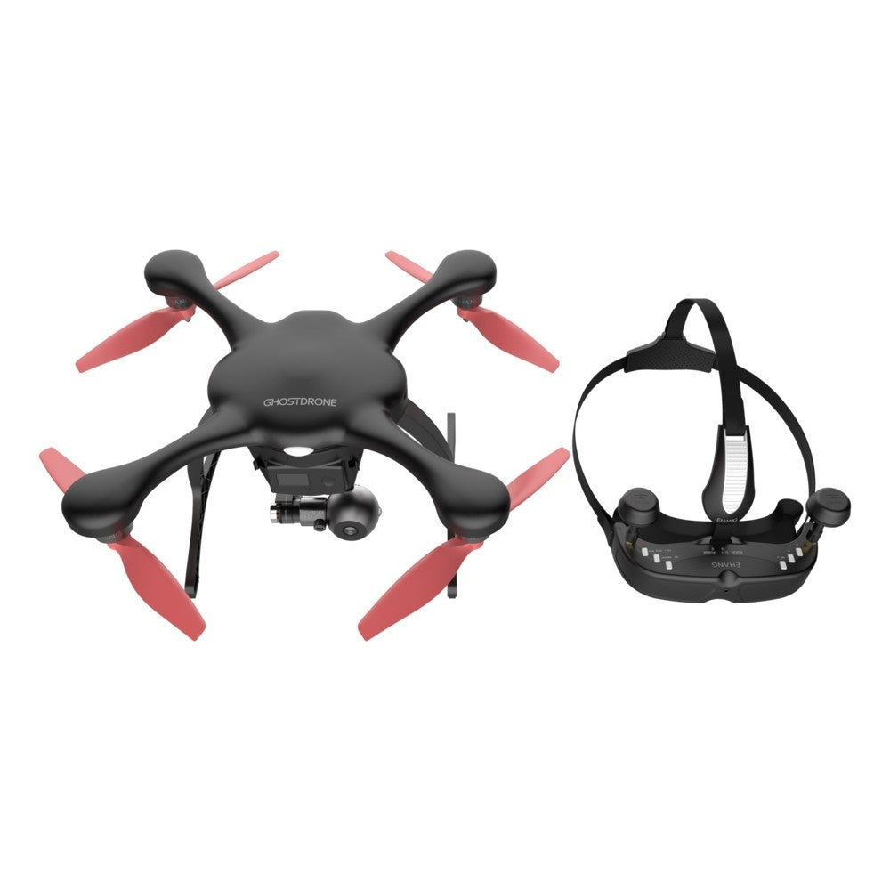 EHANG Ghostdrone 2.0 VR Drone (Android Compatible) - Black/Orange