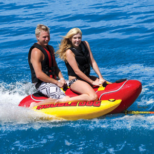 Airhead DOUBLE DOG 2 Person Inflatable Towable