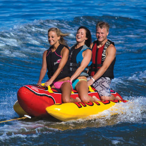 Airhead HOT DOG 3 Person Inflatable Towable