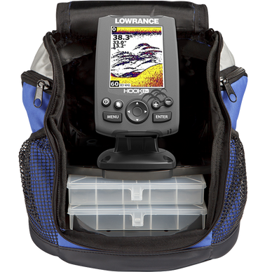 Lowrance Hook-3X All Season Pack Sonar 83/200 XDucer Fishfinder
