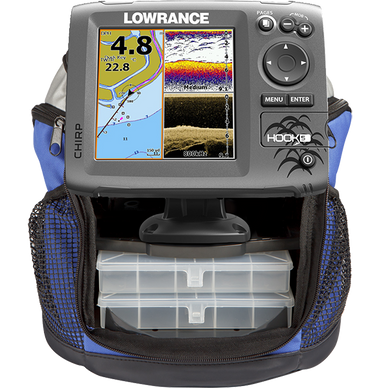 Lowrance Hook-5 Mid/High PPP-18i Ice Machine Fishfinder
