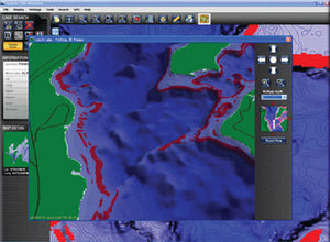 Lakemaster Contour Elite Lake Map Software-Southeast FL-GA-AL-MS-TN