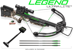 Horton Legend Ultra-Lite Crossbow Package Mossy Oak Treestand