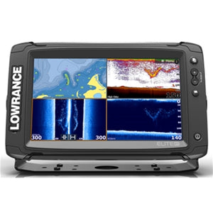 Lowrance Elite 9Ti with Mid/High/TotalScan Transducer and CMap Insight Pro