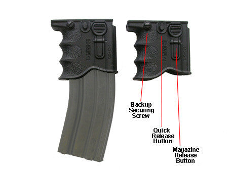 MAKO FRONT GRIP MAGAZINE HOLDER