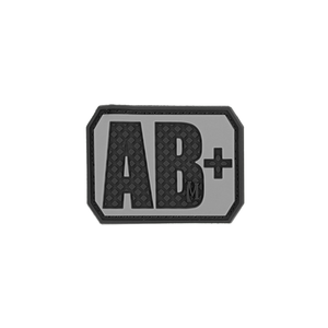 AB+ POS Blood Type Patch - PVC PATCH:BTABPS