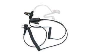 OLYMPIA P324 Tactical Headset w/PTT, For P324 Pro 4 Watt Duty Radio, Black P324TACT