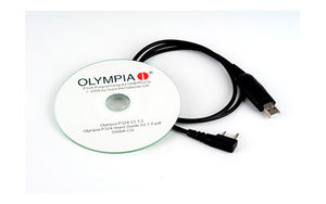 OLYMPIA P324 CD And Chord Program Kit, For P324 Pro 4 Watt Duty Radio PCK324