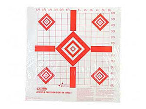 Champion Traps & Targets Redfield Style Precision Sight-In Target, 16