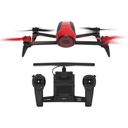 Parrot BeBop 2 Drone with Skycontroller (Red)