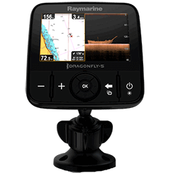 RAYMARINE Dragonfly 5 Pro with  C-Map Essentials ROW