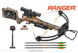 Wicked Ridge Ranger Crossbow Package Mossy Oak Treestand with ACU-52
