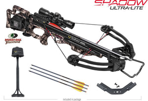 Shadow Ultra-Lite Crossbow Package Mossy Oak Treestand with ACU Draw