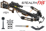 Stealth FX4 Crossbow Package Break-Up Country with ACU Draw 50