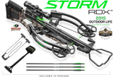 Horton Storm RDX Crossbow Package Mossy Oak Treestand with Dedd Sled 50
