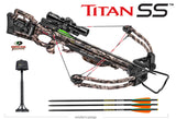Titan SS Crossbow Package Mossy Oak Treestand with ACU Draw50