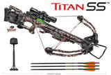 Titan SS Crossbow Package Mossy Oak Treestand with ACU Draw