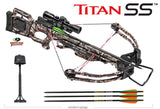 Titan SS Crossbow Package Mossy Oak Treestand