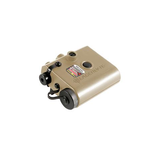 LaserLyte Center Mass Dual Lens with Green Laser -Tan