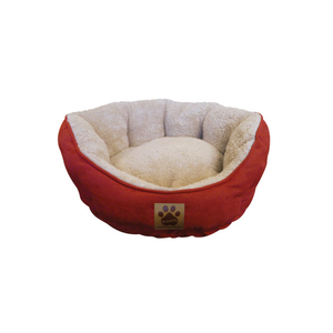 Precision Pet Clamshell Pet Bed - Red