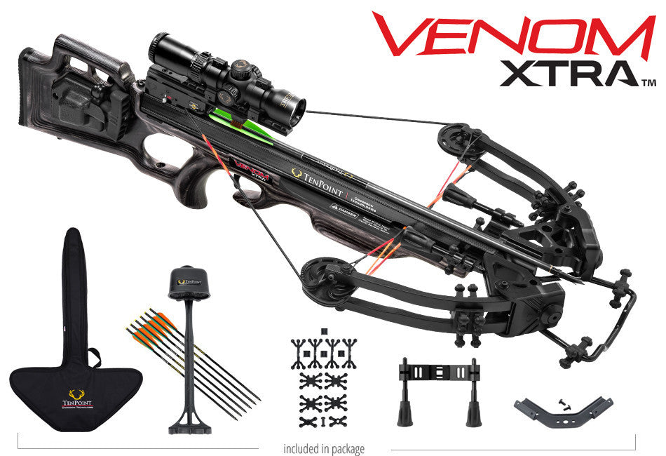 Venom Xtra RangeMaster Pro Scope Package with ACU Draw 50