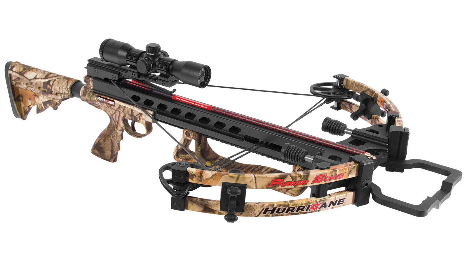Parker Bows X102-IR Hurricane Illuminate Multi-Reticle Scope Crossbow