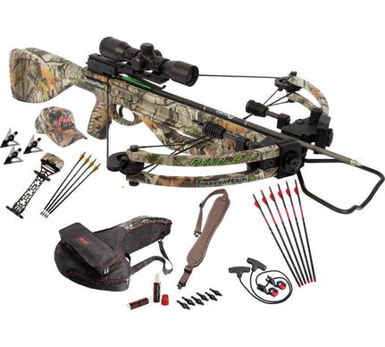 Parker Bows ThunderHawk Crossbow Perfect Storm Package-3X Multi retcle