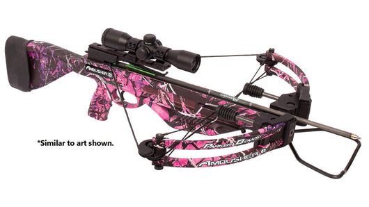 Parker 160 Pound Ambusher Muddy Girl Camo Crossbow Package